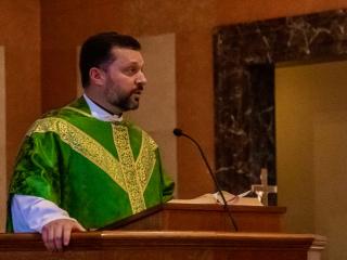 Alumnus of the Year Mass, September 19, 2020