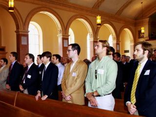 Alumni Homecoming Mass