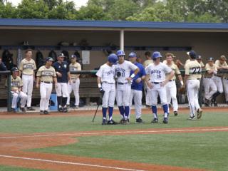 Baseball District, Jesuit (8) vs. Holy Cross (3), John Ryan Stadium, April 13, 2019