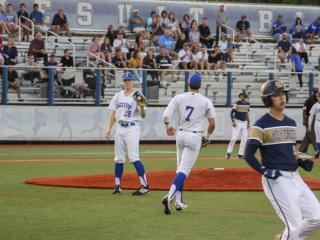 Baseball Playoffs Regional Rd., Jesuit vs. Holy Cross, John Ryan Stadium, April 26-27, 2019
