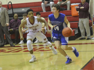 Basketball versus Brother Martin Feb 9 2018