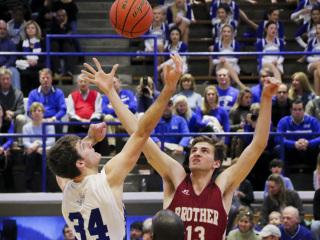 Basketball vs. Brother Martin, February 3, 2018