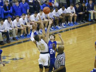 Basketball vs. Holy Cross, Feb. 4, 2019