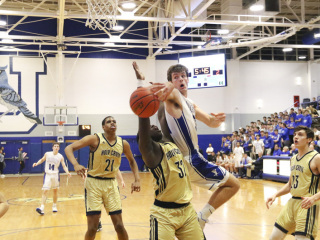 Basketball vs. Holy Cross, February 7, 2018