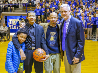 Basketball vs. St. Augustine, Feb. 11, 2019