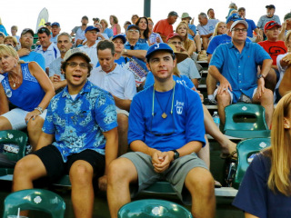 Faces in the Crowd at the American Legion World Series; Shelby, NC, Aug. 18, 2015