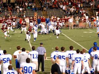 Football vs. Brother Martin, Nov. 1, 2013