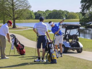 Golf 2019: Jesuit (159) vs. Br. Martin (155) and Holy Cross (161), Bayou Oaks, April 2, 2019