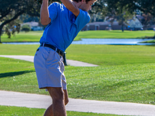Golf first four district matches, Sept - Oct. 2020
