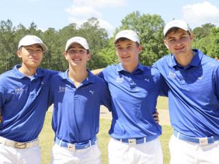 Golf Regional Tournament (Region II), Carter Plantation, April 24, 2018