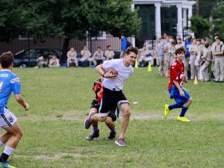 Homecoming Week 2014 - Seniors vs. Faculty Football, Oct. 2, 2014