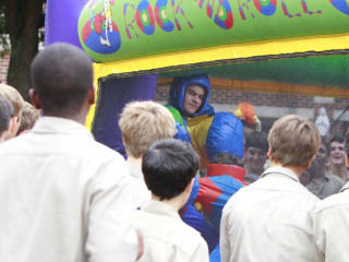 Homecoming Week 2014 - Super Smash Bros. Inflatable Joust, Oct. 1, 2014