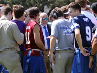 Homecoming Week, Senior-Faculty Football Game, September 29, 2017