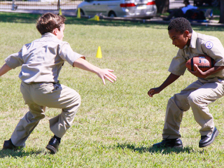 Intramural Sports - Freshman & Pre-freshman Football, Sept. 26, 2013