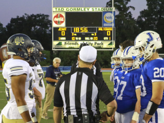 Jesuit vs Holy Cross Rivalry Game, Sept. 30, 2016