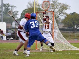 Lacrosse vs. Bro. Martin, March 22, 2014