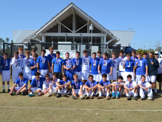 Lacrosse, Jesuit vs Brother Martin, Battle By the Beach, March 23 & 24, 2013