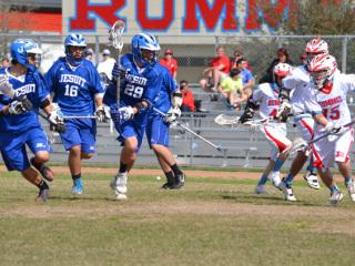 Lacrosse, Jesuit vs Rummel, Feb. 2, 2013