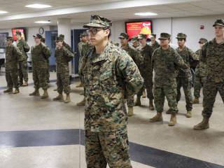 MCJROTC, Marine Corps Birthday, Nov. 8, 2018