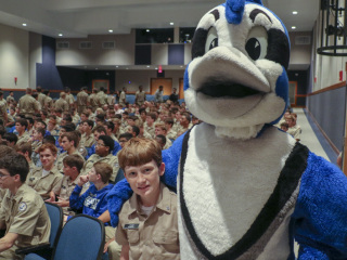 New Student Orientation, Investiture Ceremony and Pep Rally, Aug. 16, 2018