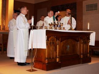 Monthly School Mass with Archbishop Aymond, Oct. 2, 2013