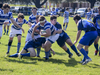 Rugby 2016-17: JHS (29) vs. St. Paul's (19), Feb. 4, 2017