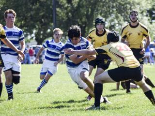 Rugby 2016-17: JHS (34) vs. Bro. Martin (5), April 8, 2017