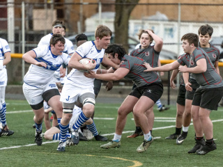 Rugby vs. St. Joseph's Preparatory School, Feb. 16, 2019