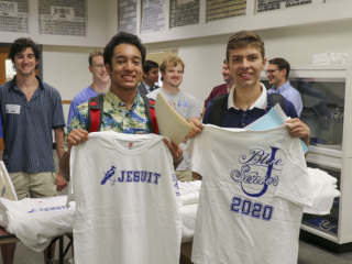 Senior T-Shirt Distribution, Class of 2020 Book Day, August 13, 2019
