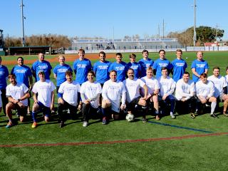 Soccer Alumni Homecoming, Jan. 6, 2018