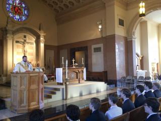 Sodality, Year-End Mass, May 4, 2016