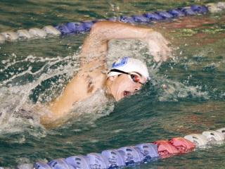 Swimming District Championship, UNO Aquatic Center, Oct. 23, 2017