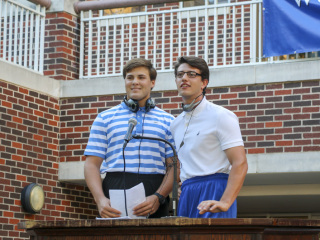 Welcome Week Morning Assembly Skit, August 27, 2018