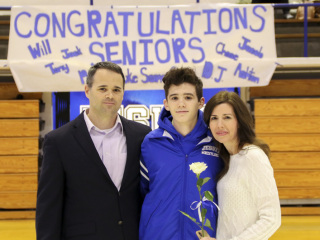 Wrestling Senior Night, Jan. 30, 2019